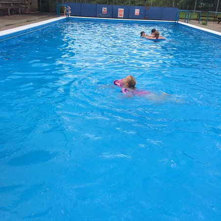 Camping At Lazonby Pool Campsite Aug 2016 Picture Of Lazonby Swimming Pool Lazonby