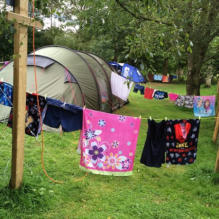 Camping At Lazonby Pool Campsite Aug 2016 Picture Of