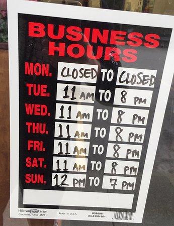 Wasilla, AK: Work hours