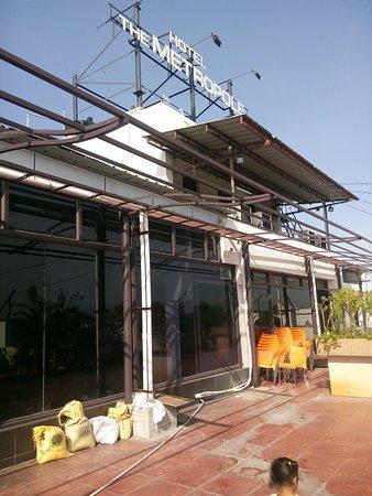 Hotel The Metropole: Roof top restaurant