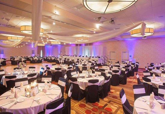 Mankato, Миннесота: Event Center - Reception Setup