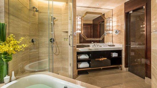 Meishan, China: Guest Bathroom