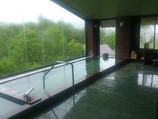 Hotel Grand Phenix Okushiga: 最上階にある大浴場