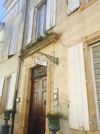 La Maison du Parc: The front entrance