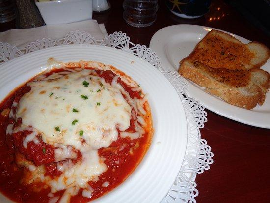 Lasagne Dinner Picture Of Magnolia S Veranda Las Vegas Tripadvisor