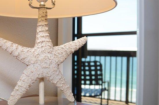 Jacksonville Beach, FL: Starfish Lamp