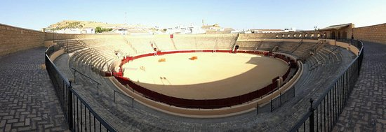 Plaza de Toros: Panoramic of the bullring
