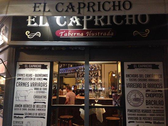 restaurante el capricho en madrid con cocina otras cocinas
