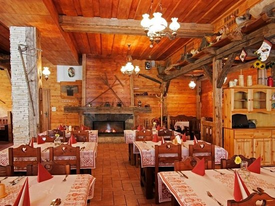 Demanovska Dolina, Slowakije: Restaurant