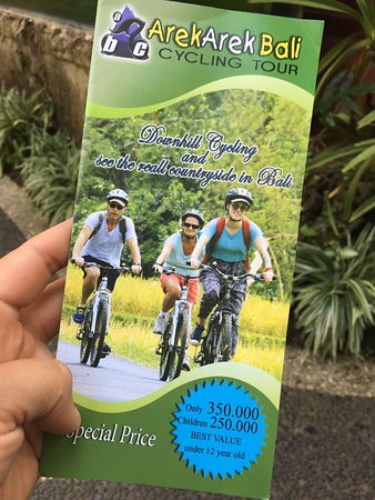 "Arekarek Bali Cycling: This is the ""real"" price for this tour not Rp870,000"