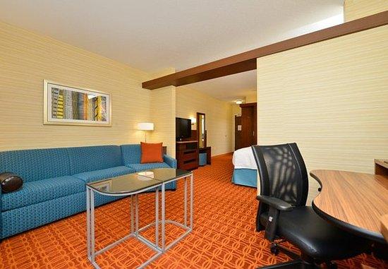 Horseheads, Nova York: Suite Living Area