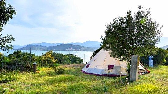 Tertenia, Italie: Tenda già montata