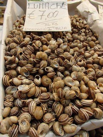 San Benedetto market : Рынок Сан-Бенедетто, Кальяри, Сардиния.