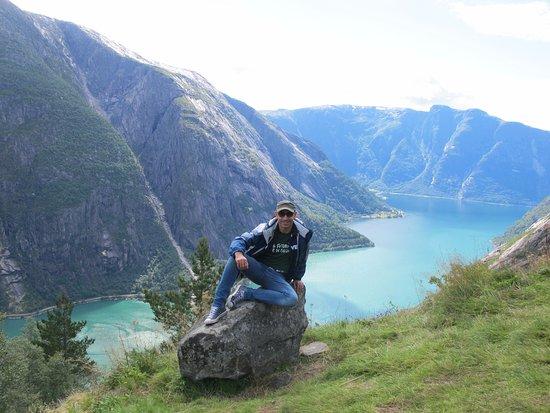 Eidfjord Municipality, Noruega: panorama dalla fattoria