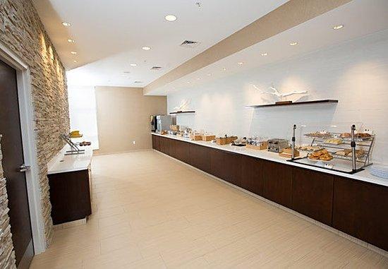 บลูมิงตัน, อินเดียน่า: Breakfast Buffet