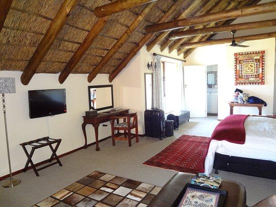 Colchester, África do Sul: Zimmer im oberen Stock