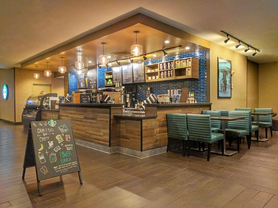 East Rutherford, NJ: Starbucks at Hilton Meadowlands