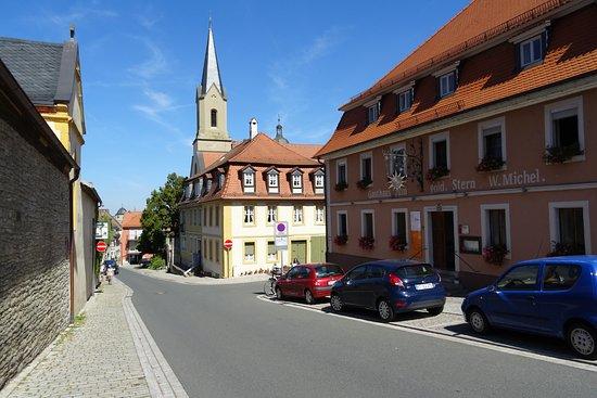 Marktbreit, Tyskland: Lage