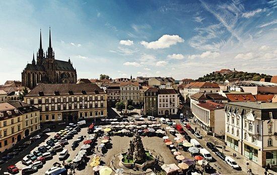 Hotel Grandezza: square view