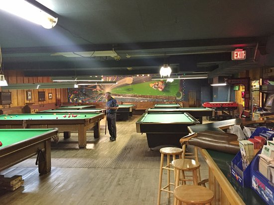 Billiard Tables and Dining Stools - Goldland Billiards, Kirkland Lake ON