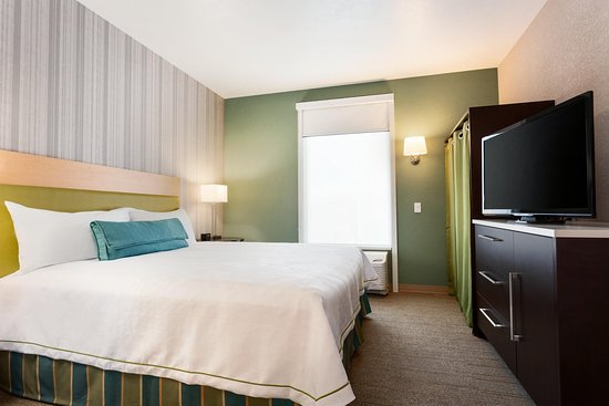 Home2 Suites by Hilton Salt Lake City-Murray, UT: One Bedroom Suite Bedroom