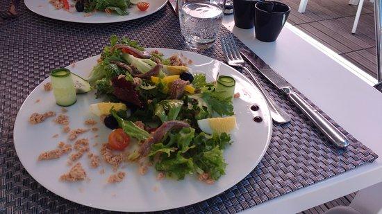 Blagnac, Fransa: salade nicoise (entrée)