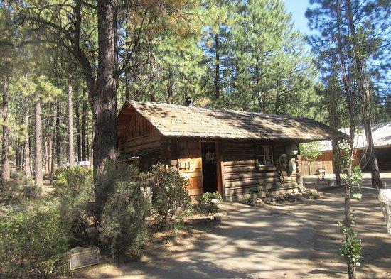 Cabin, High Desert Museum, Bend, Oregon