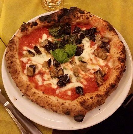 San Cipriano Picentino, Italia: La pizza siciliana