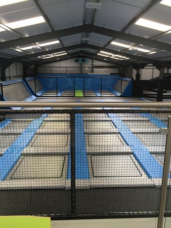 Wimborne Minster, UK: Activate Indoor Trampoline Park