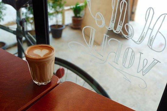 Talat Yai, Thailand: Piccolo latte