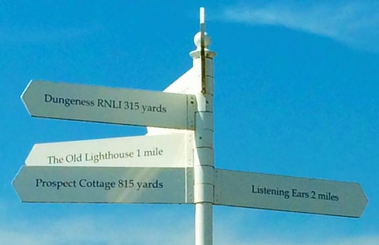 Dungeness, UK: Where to go next.