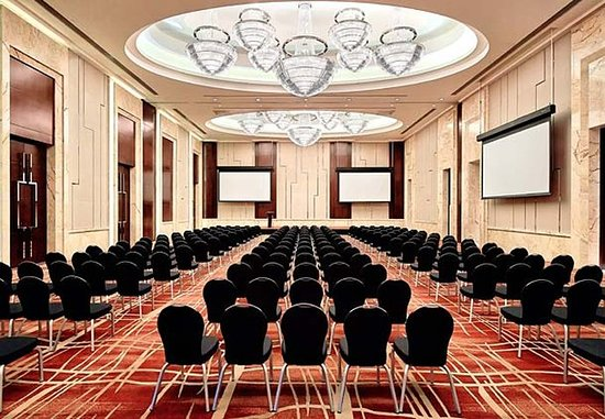 Huizhou, China: Kaisa Ballroom – Theater Setup