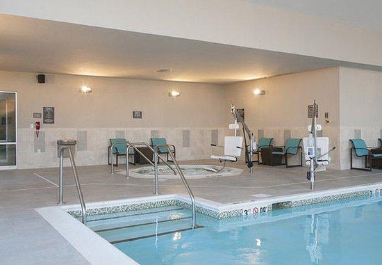 Bloomington, Ιλινόις: Indoor Pool & Whirlpool