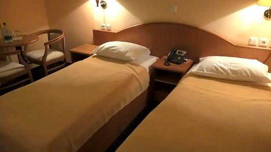 Hotel Mantova - Vrhnika: номер с 3-мя односпальными кроватями