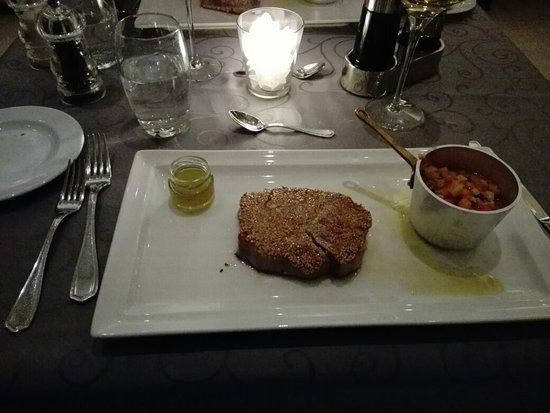 Restaurant Dubrovnik: Tuna steak