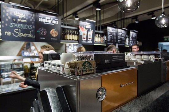 94b3e5a80a Starbucks - Aupark Shopping Center - Picture of Starbucks ...