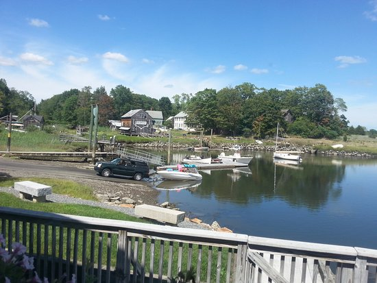 Essex, MA: A view from the restaurant window