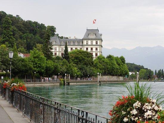Thun, Suisse : lungo fiume