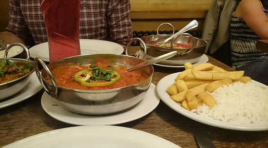 Magor, UK: Vegetarian Rogan Josh