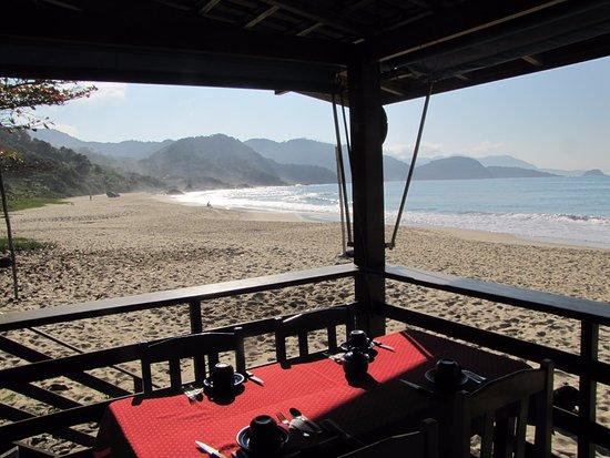 Hotel Garni Cruzeiro do Sul: Notre table pour le petit déjeuner