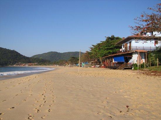 Hotel Garni Cruzeiro do Sul: L'hotel depuis la plage