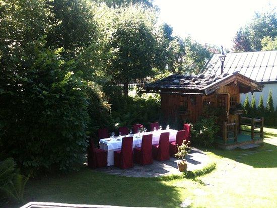 Hotel Villa Licht: Lichtgarten