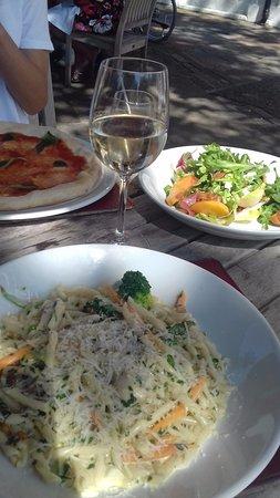 excellent chicken and pasta