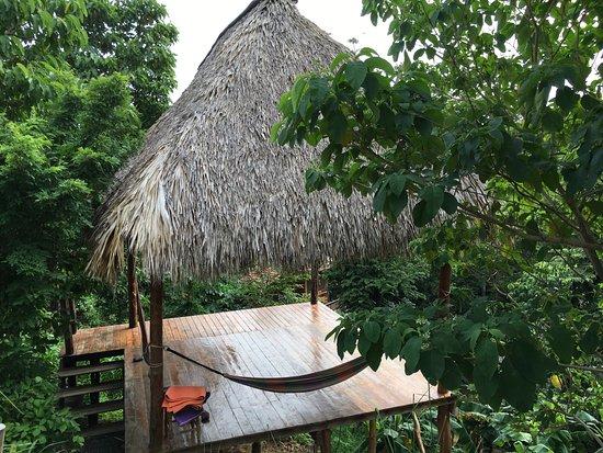 Hostel Clandestino : Espace yoga - un bonheur!