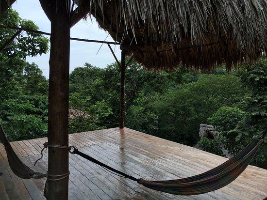 Playa Maderas, Nicaragua : Espace yoga - un bonheur!
