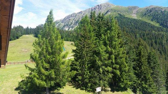 Albergo Dolomiti: Panorama dalla mia camera
