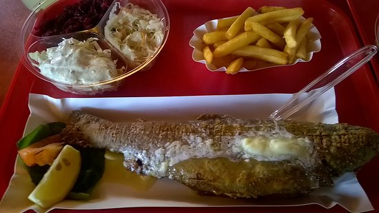 Milkow, Polandia: zdjęcie szału nie robi ale ryba jest GODNA polecenia