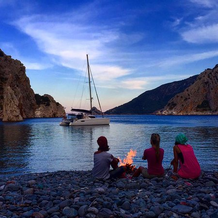 Pantai Mediterania Turki, Turki: Xenia катамаран