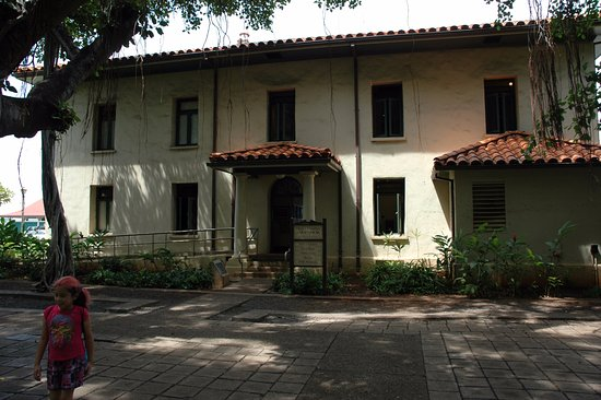 Old Lahaina Courthouse: Old Courthouse, now a museum...