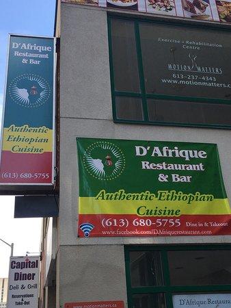 D Afrique Restaurant Bar Ottawa On